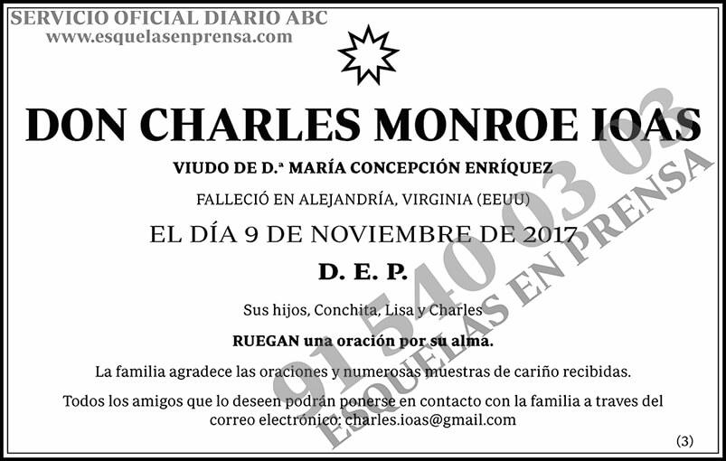 Charles Monroe Ioas